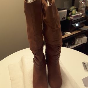 Womens Boots Rust Color or Burnt Orange
